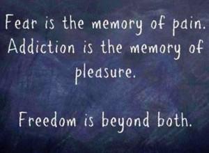 Addiction pleasure