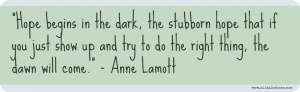 Hope Annie Lamott
