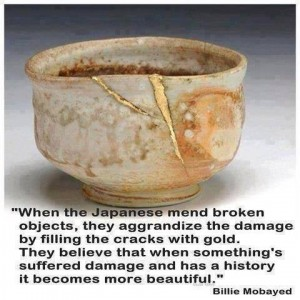 damaged is more beautiful